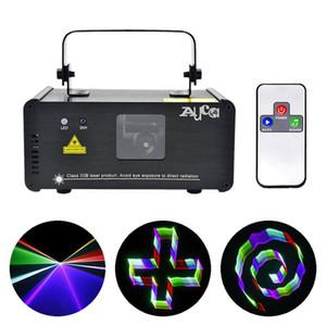 3D-эффект 8 CH DMX Mini IR Remote 400 МВт RGB лазерный сканер огни DJ Party Disco Show проектор сценическое освещение красивый