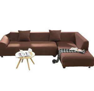 TUTUBIRD Solid Stretch Tight Canapé Couverture Tissu Tricoté Anti-Slip Flexible Grande Élasticité Couverture Couch Couverture Mobilier