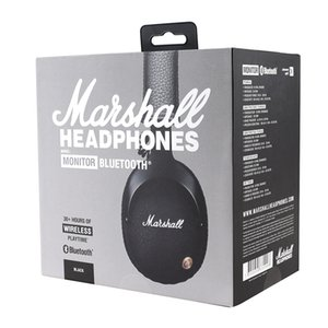 Marshall Monitor bluetooth wireless Cuffie audio casco On Ear Cuffie senza fili - nero