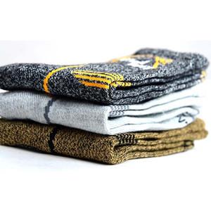 3pairs Marca Coolmax Socks Men 'squick seco térmica Meias Nylon Algodão respirável Antibacteriana grossas meias quentes para homens