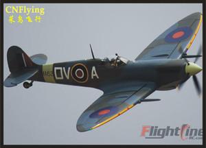 Freewing ligne de vol New RC Avion 1600mm Spitfire envergure 1.6m modèle d'avion modèle RC PNP et PNP sans ESC