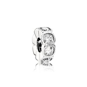 FAHMI 100% 925 Sterling Silver Authentic Charm 792027CZ Temperament Fashion Glamour Retro Bead Wedding Women Jewelry