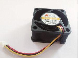 Yeni Y.S.TECH 4 cm 40 * 40 * 20 12 V 0.12A FD124020EB üç hat güç kaynağı fanı dilsiz
