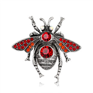 Fashion animals cute bee brooches for women