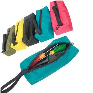 1 STÜCK Werkzeugtasche Oxford Leinwand Wasserdichte Multifunktionale Lagerung Werkzeugtasche Für Elektriker Tischler