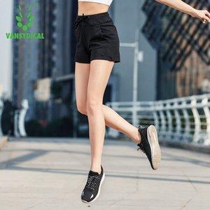 VANSYDICAL 2018 Mujeres Jogger Fitness Ejercicio Shorts Profesión Running Shorts Culturismo Falso Deportes