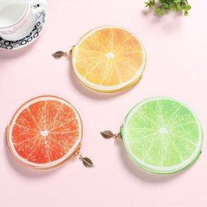 En Yeni Sevimli Güzel Yaratıcı Meyve Karpuz Sıfır Cüzdan Kız Mini Cüzdan Çocuk Coin Çantalar çocuklar Çanta