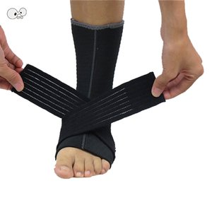 2 pcs Ankle Support Brace Sports Foot Stabilizer Adjustable Bandage Ankle Sock Straps Protector Football Guard Sprain Pads