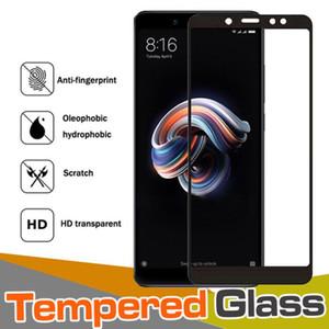 Углеродного волокна 3D закаленное стекло полная крышка 9H доказательство защиты экрана Защитная пленка для Xiaomi Redmi 6 Pro 6A Note 5 Plus 5A 4 4A 4X Y1 Prime S2