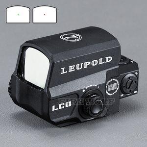 LEUPOLD LCO aggiornato Red Dot Sight caccia Scopes olografica tattica Riflescope Ogni guida di 20mm Mount Armeria ad aria compressa