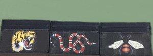 여자 / 남자 유명 브랜드 미니 지갑 짧은 여자 짧은 카드 소지자 clemence 동물 인쇄 지갑 높은 품질