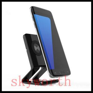 Supporto per caricatore wireless per dock Qi desktop per Samsung S6 S7 edge S8 Plus note8 Iphone 8 plus X Caricatore universale