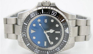 high quality man Automatic machinery SEA watch stainless steel strap black blue dial stainless steel watch