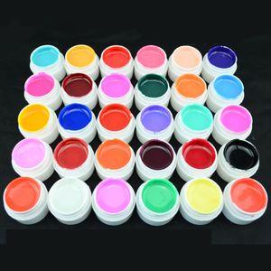 1 قطعة 4 ملليلتر جودة عالية نقية الألوان uv gel nail مانيكير ل led uv مصباح هلام بلون مسمار الفن جل الورنيش