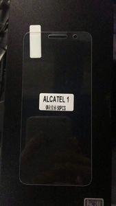 واقي الشاشة الزجاجي الصلب 9H لاجهزة الكاتيل 1 OT-5033O LG G7 Stylo 4 Q Stylus ThinQ V30 V30 Plus V30S ThinQ Glass 2.5D واقي الشاشة