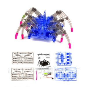 Kids Electric Spider Robot Jouet DIY Educatif Intelligence Développement Assembler Kids Enfants Puzzle Action Jouets Kits