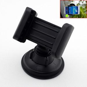Téléphone portable noir Réglage mobile réglable Support Support à support berceau pour véhicules intérieur Accessoires Pièces