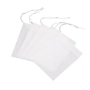 100 pz / pacco bustine di tè filtro vuoto Brew bustine di tè bustina di carta profumata piccolo floreale tea pack tessuti non tessuti