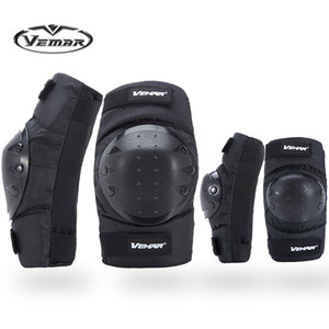 2018 Top VEMAR VM-183 Sports Safety motorcycle knee pads and Elbow racing off-road knee pads riding Elbow knee pads cycling kneepads Elbow