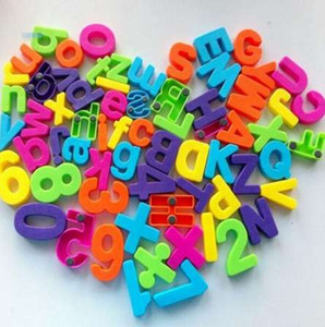 Set Of 26 Colorful Magnetic Learning Magnets Fridge Magnets Alphabet Letter frigorífico Frigorifero della lettera