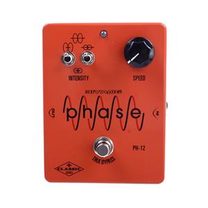 Biyang CH-12 Аналоговый хорус Tone Педаль эффектов гитары педаль Правда Обходной Электрогитара с разъемом педали Gold