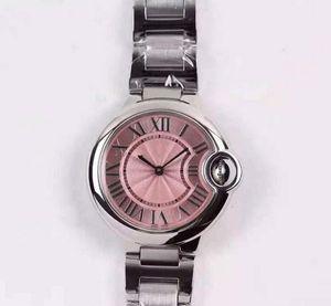 Orologi di lusso CTBrand 052501 rosa donne orologio al quarzo svizzero zaffiro specchio di cristallo scanalatura diametro diametro 28mm \ 33mm orologi di marca.