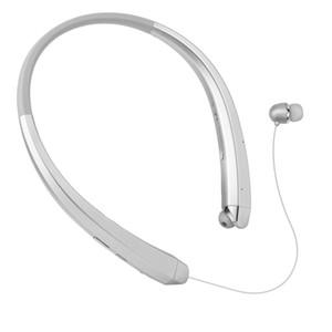 HBS 910 HBS910 Wireless Sport Nackenbügel Headset In-Ear-Kopfhörer Bluetooth Stereo-Kopfhörer für LG HBS-910 iPhone X 8 Samsung S8 S9 + DHL frei