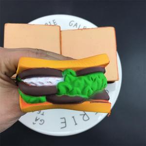 Squishy Hamburger Pain Squeeze Toy Creative Belle Simulation Food Squishies Décompression Jouets Enfants Cadeaux Vente Chaude 11 TM C