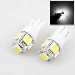 2 قطع الصمام سيارة dc 12 فولت lampada ضوء t10 5050 سوبر وايت 194 168 w5w t10 led وقوف السيارات لمبة إسفين التخليص مصباح