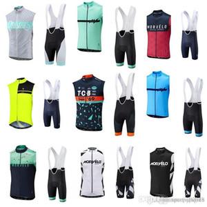 Morvelo team Cycling Sleeveless jersey Vest (bib)shorts sets Road bike clothing breathable sleeveless cycling suit sportswear outdoor c2301