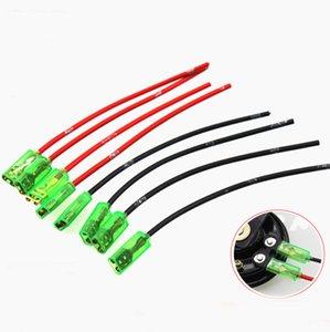 100шт электрический мотоцикл аксессуары Рог линии, газовый динамик терминал линии, модифицированный акустический кабель, динамик Медный штекер