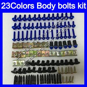 Tornillos de carenado Kit de tornillo completo para Yamaha FZ6 FZ6R 09 10 11 12 13 FZ 6R FZ-6R 2009 2011 2011 2012 2012 2013 2013 Tornillos de tuercas Tornillos Tuercas Kit 25 Colores