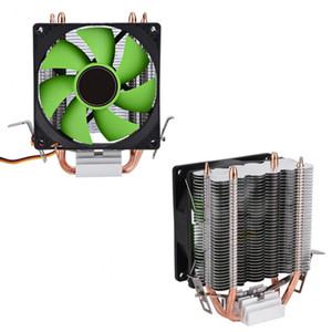 Freeshipping 90 ملليمتر 3pin مروحة cpu تبريد غرفة تبريد هادئة لإنتل LGA775 / 1156/1155 AMD AM2 / AM2 + / AM3