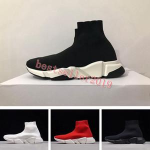 2019 Triple S Sneakers Speed Socke Laufschuhe Fashion Designer Damen Herren Trainer Hochwertige Freizeitschuhe des chaussures 36-45