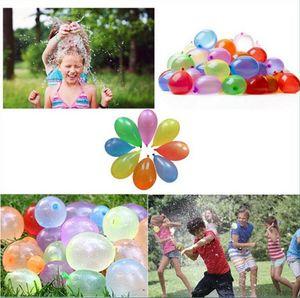 Látex balão de água bolas de água Bomba Bomba Rápido Injection Verão Jogos Beach Water sprinking Ballons CNY107
