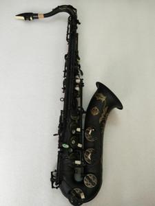 Suono di alta qualità Suzuki Tenore Sassofono B Strumento musicale Tenore che gioca professionalmente con sassofono nero in nichel oro con custodia