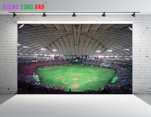 SHENGONGBAO Vinil personalizado Campo de Futebol tema Vinil Fotografia Backdrops Prop Fotografia Personalizada Fundo NTZP-30