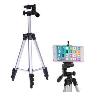 Soporte de trípode para cámara profesional para iPhone iPad Samsung Cámara digital + Soporte de mesa / PC + Soporte para teléfono + Bolsa de nylon