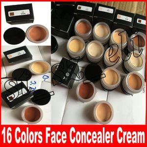 Yüz Makyajı Önbellek-çekirdekler Kapatıcı 16 renk Yüz CONCEALER CREAM