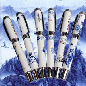 3 PCS Vintage Fountain Pen Escola Coisas Redação escrevendo fontes Kontselyariyas Lacquer Bandeira Caligrafia Pen Sharpie