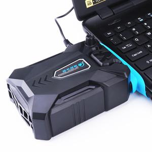 Aspirador Portátil Notebook Laptop Cooler USB Air Extractor de Ventilación Externa para Laptop Velocidad Ajustable para 15 15.6 17 Pulgadas