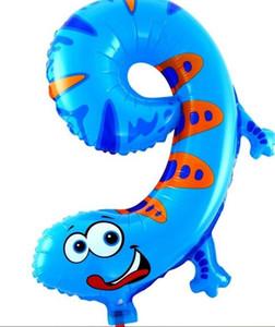 16 بوصة عدد الحيوانات احباط بالونات حزب الديكور عيد سعيد الزفاف الديكور بالون هدية
