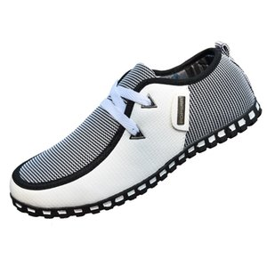 Men Casual Shoes New Arrival Light Flats Shoes Leather Loafers Slip On Mens Flats Driving Shoes Trainers Zapatos Hombre MC008