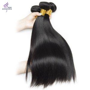 """الحديث تظهر 1 قطعة فقط الماليزي مستقيم الشعر 100٪ حزم الشعر البشري 100 جرام غير ريمي النسيج ملحقات 10 """"-28"""""""
