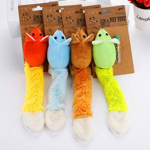 1PCS longs jouets Teaster de chat de la souris queue drôle jouets pour chats souris trainning drôles jouets jouant interactifs avec cataire 4 couleurs Promotion