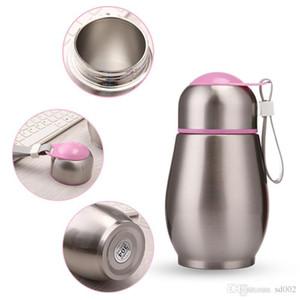 Cute Penguin Vacuum Insulation Cup Bottiglie d'acqua con corda Double Deck Viaggio in acciaio inox Drink novità novità 18ke X