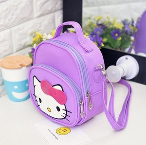 2018 Schoolbag Bebek sırt çantası Çocuk çantaları Anaokulu Öğrenci sırt çantası Çocuk çantası Tuval + PU Okul Çantaları Sevimli karikatür A16