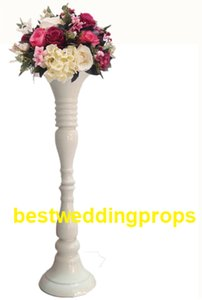 New style elegant beautiful Tall white mental Flower Stands Wedding Table Centerpieces for weddings decoration best0124