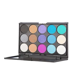 جمال ظلال العيون 15 ألوان أزياء المرأة ماكياج التجميل محايد العراة الدافئة عينيه لوحة مجموعة ماكياج التجميل