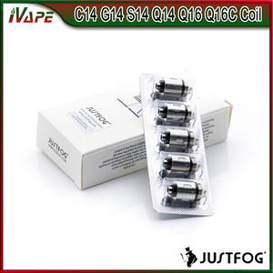 JUSTFOG Q16 Bobina Q14 Bobina 1.6ohm 1.2ohm Núcleo de la cabeza de repuesto para Justfog C14 Q14 Q16 P16A Kit P14A 100% Original